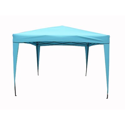 East End Patio Pop-Up 10 Ft. W x 10 Ft. D Canopy by LB International ...