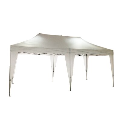 Pop-Up 20 Ft. W x 10 Ft. D Canopy by LB International