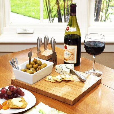 Picnic At Ascot Buxton 10 Piece Cheese Tray Set