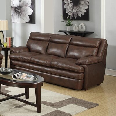 Clarkston Leather Sofa by At Home Designs
