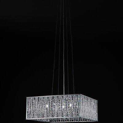Z-Lite Terra 5 Light Drum Pendant