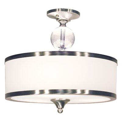 Cosmopolitan 3 Light Semi Flush Mount Product Photo
