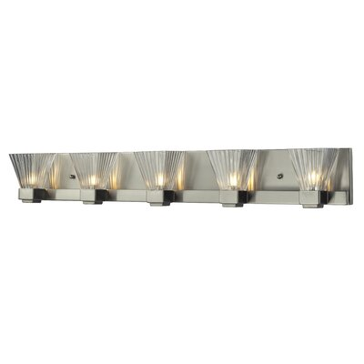 Iluna 5 Light Vanity Light Product Photo