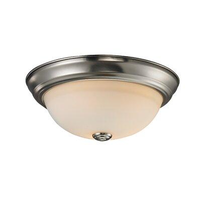 Z-Lite Athena 1 Light Flush Mount