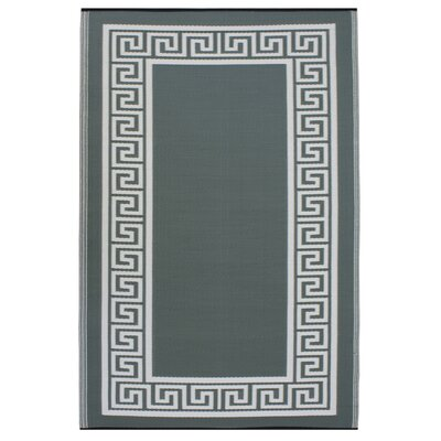 Fab Rugs World Athens Olive Green/Cream Indoor/Outdoor Area Rug