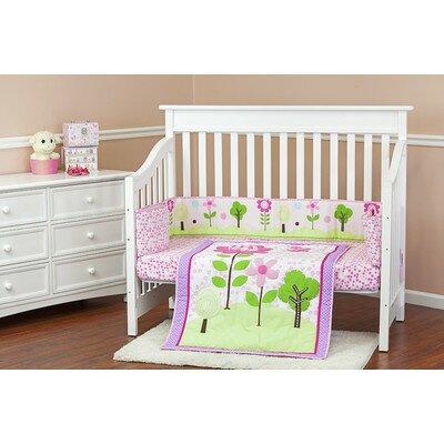 Spring Garden Portable 3 Piece Crib Bedding Set by Dream On Me/Mia Moda
