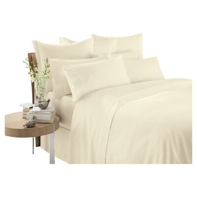 Sheridan 600 Thread Count Cotton Sateen Fitted Sheet