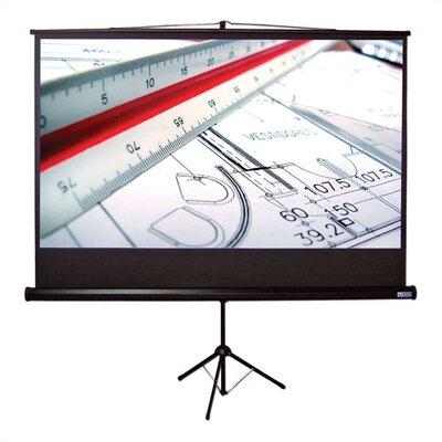 """Vutec Matte White 110"""" Diagonal Portable Projection Screen"""