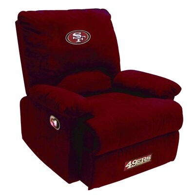 San Francisco 49ers red recliner