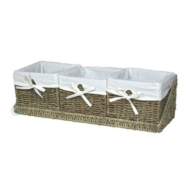 Shelf Basket with Tray by Quickway Imports
