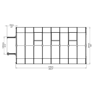 Ft x 8 ft 5 bathroom challenge - Rion Greenhouses Prestige 2 Twin Wall 9 Ft W X 17 Ft D