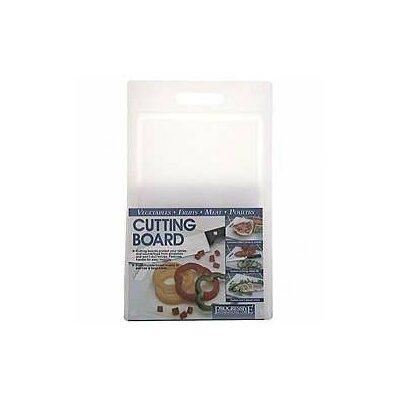 "Progressive International 10"" x 16"" Cutting Board in White"