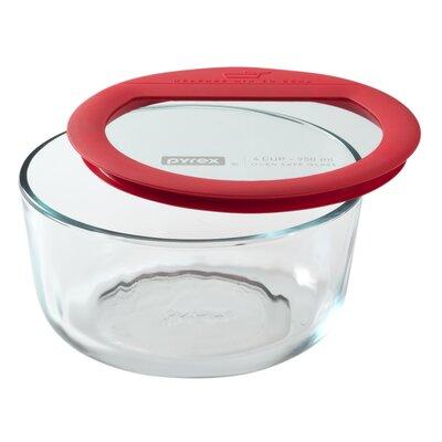 Premium Glass Lids Round Storage Dish by Pyrex