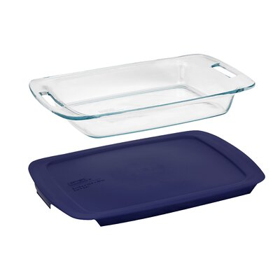 Pyrex Pyrex Easy Grab 3 Qt. Oblong Baking Dish with Cover
