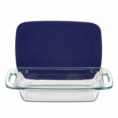 Pyrex Easy Grab 2 Qt. Oblong Baking Dish with Cover