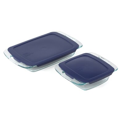 Pyrex Easy Grab 4 Piece Bakeware Set
