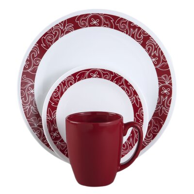 Livingware™ Bandhani 16 Piece Dinnerware Set by Corelle