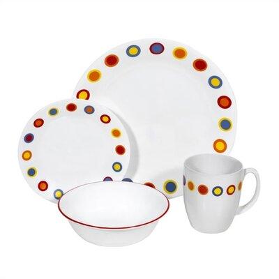 Livingware Hot Dots 16 Piece Dinnerware Set by Corelle