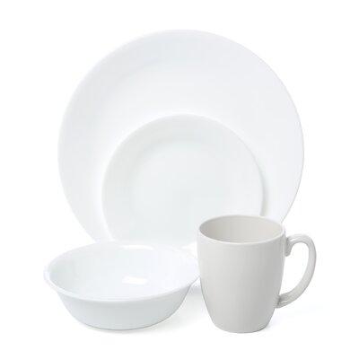 Corelle Livingware Winter Frost 16 Piece Dinnerware Set