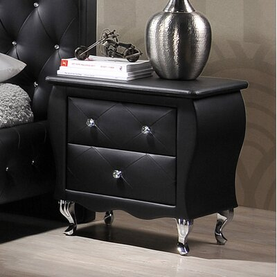 Danbury 2 Drawer Nightstand by Williams Import Co.
