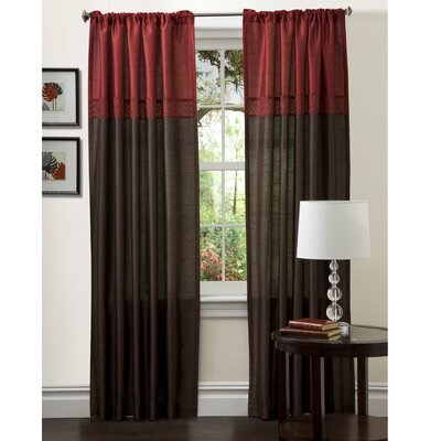 Special Edition by Lush Decor Geometrica Rod Pocket Curtain Panels
