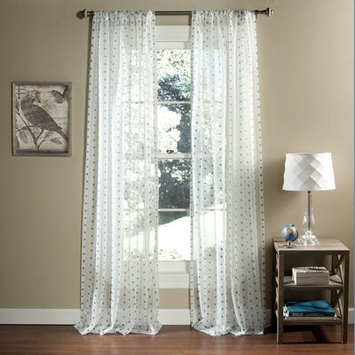 Polka Dot Curtain Panels (Set of 2) Product Photo
