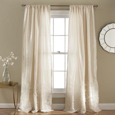 Paloma Rod Pocket Single Curtain Panel Product Photo