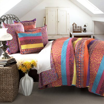 Boho Quilt Collection by Lush Decor
