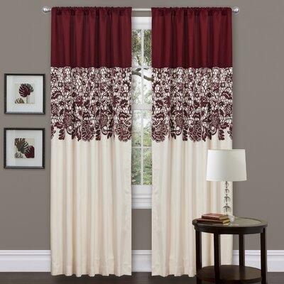 Estate Garden Rod Pocket Single Curtain Panel Product Photo