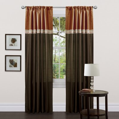 Terra Rod Pocket Curtain Panel (Set of 2) Product Photo