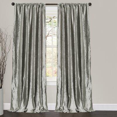 Velvet Dream Rod Pocket Curtain Panel (Set of 2) Product Photo