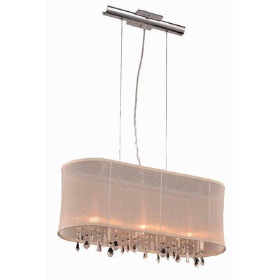 Harmony 3 Light Kitchen Island Pendant by Elegant Lighting