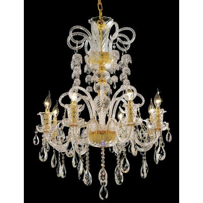 Elegant Lighting Elizabeth 8 Light Chandelier