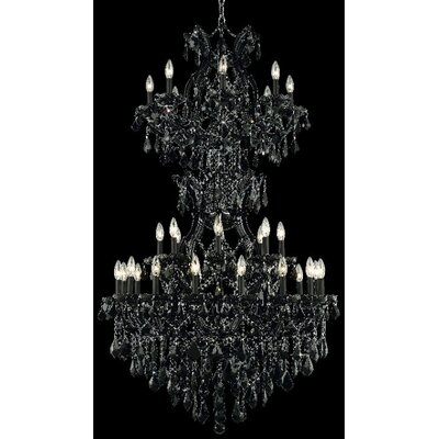 Elegant Lighting Maria Theresa 34 Light  Chandelier