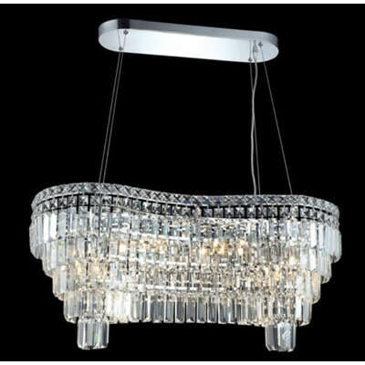 Elegant Lighting Maxim 14 Light Chandelier