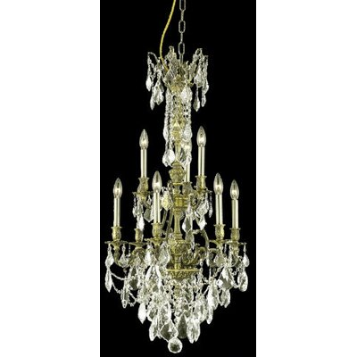 Elegant Lighting Monarch 9 Light Chandelier