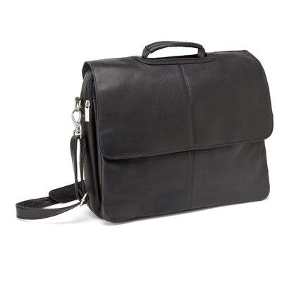Le Donne Leather Laptop Briefcase