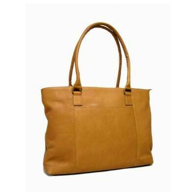 Women's Laptop Tote Bag by Le Donne Leather
