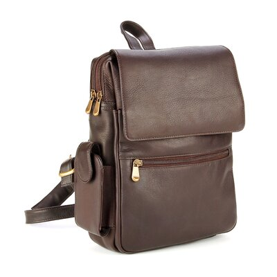 Women's iPad / E-Reader Backpack by Le Donne Leather