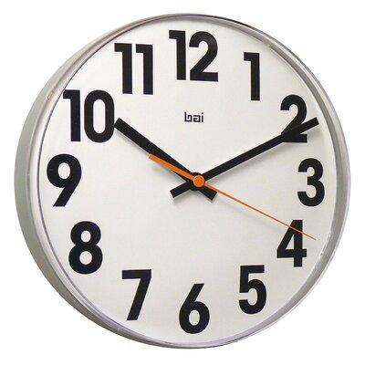 """Bai Design 11"""" Lucite Big No Wall Clock"""
