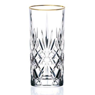 Lorren Home Trends Siena Crystal Water/Beverage/Ice Tea Glass