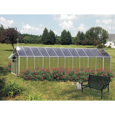 Monticello 8 Ft. x 24 Ft. Mojave Greenhouse by Riverstone Industries Corporation