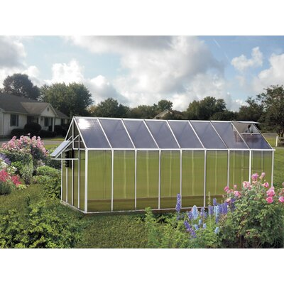 Monticello 8 Ft. x 16 Ft. Mojave Greenhouse by Riverstone Industries Corporation