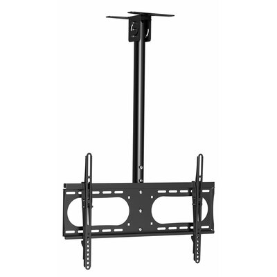 "Adjustable Pole Angle Tilt Ceiling Mount for 37""-65"" Flat TV Product Photo"