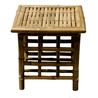 Bamboo54 Bamboo Square Side Table