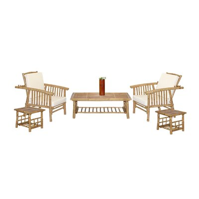 Mikong 6 Piece Coffee Table Set by Bamboo54