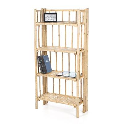 Bamboo54 4 Tier 53'' Accent Shelves