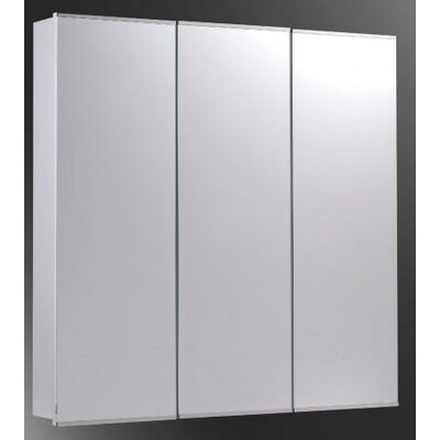"Tri-View 48"" x 36"" Surface Mount Medicine Cabinet Product Photo"
