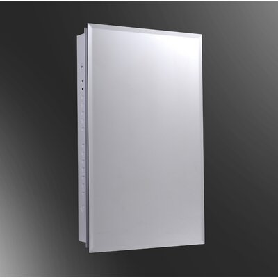"""Deluxe Series 20"""" x 26"""" Recessed Beveled Edge Medicine Cabinet Product Photo"""
