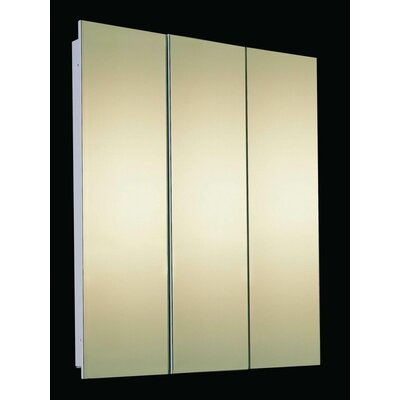 "Tri-View 60"" x 36"" Recessed Beveled Edge Medicine Cabinet Product Photo"